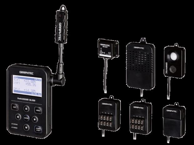Graphtec-GL100 with sensor