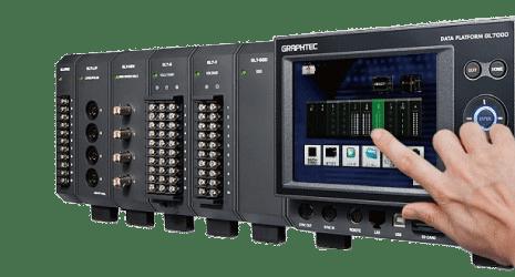 Modulaire logger GL7000 Graphtec