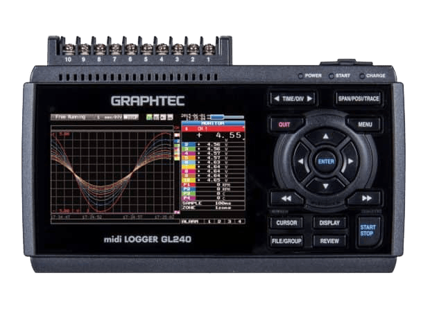 Midi logger GL240 graphtec